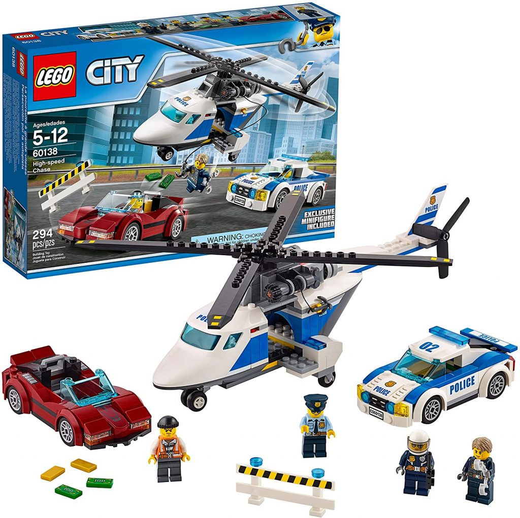 Great Lego set to challenge 6 - 8 year olds.